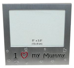 I Love My Mummy Photo Picture Frame Gift 5 x 3.5